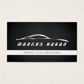MODERN AUTO DETAILING, AUTO REPAIR BUSINESS CARD