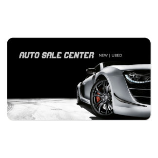 Modern Auto Sale Car Dealership Business Card