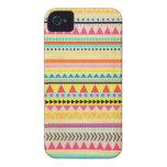 Modern Aztec Pattern Case Mate  iPhone 4 Case