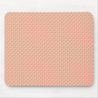 Modern Aztec Pink Striped Pattern Mouse Pad