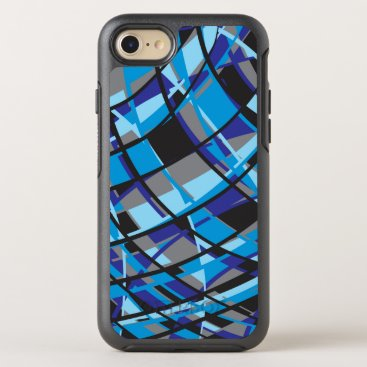 Modern Azure OtterBox Symmetry iPhone 8/7 Case