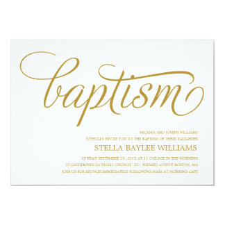 Baptism Invitations For Girls