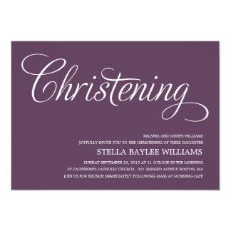 MODERN BABY | CHRISTENING INVITATION