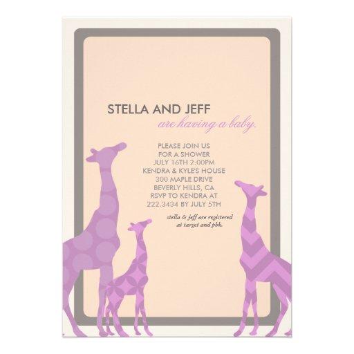 modern baby shower invitation no 1 5 x 7 invitation card zazzle