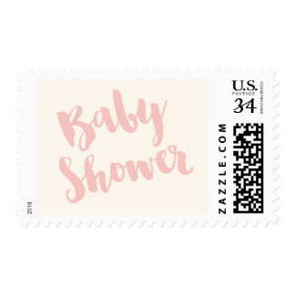 Modern Baby Shower Postage