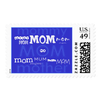 Modern Baby Shower Postage {Mom}