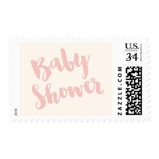 Modern Baby Shower Postage Stamp