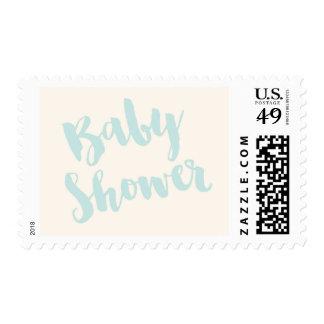 Modern Baby Shower Stamp