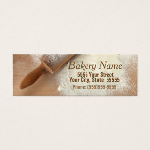 Catering company business cards templates zazzle modern bakerycatering company business card reheart Image collections