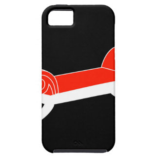 Modern banquette with wooden legs iPhone SE/5/5s case
