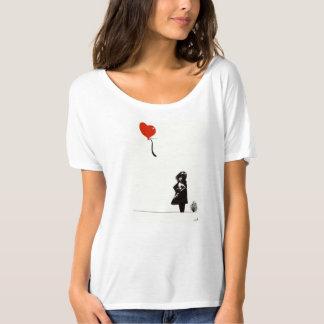 Modern Bansky Girl T-Shirt