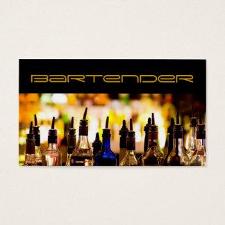 Modern Bartender Business Card