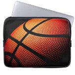 Modern Basketball Sport Ball Skin Texture Pattern Laptop Computer Sleeve