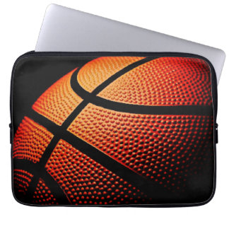 Modern Basketball Sport Ball Skin Texture Pattern Laptop Sleeve