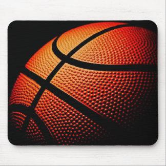Modern Basketball Sport Ball Skin Texture Pattern Mouse Pad