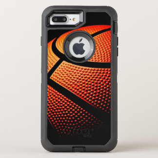 Modern Basketball Sport Ball Skin Texture Pattern OtterBox Defender iPhone 8 Plus/7 Plus Case