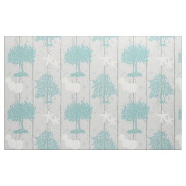 Beach Themed Modern Beach Cottage Coral Starfish Sand Dollar Fabric
