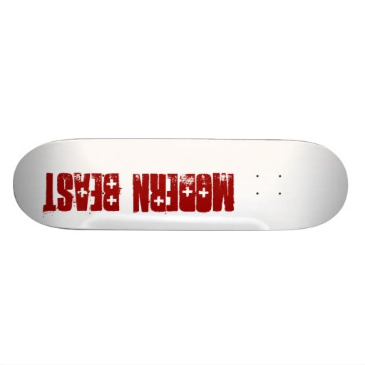 Modern Beast Skate Deck
