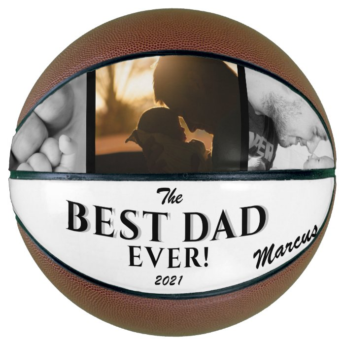 Modern Best Dad Ever Father Day Basketball