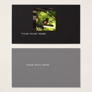 Modern Bird business card