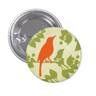 Modern Bird Button