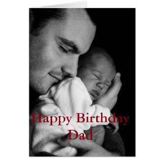 Modern Birthday Card for Father