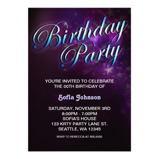 How To Make Cool Invitations with adorable invitation sample