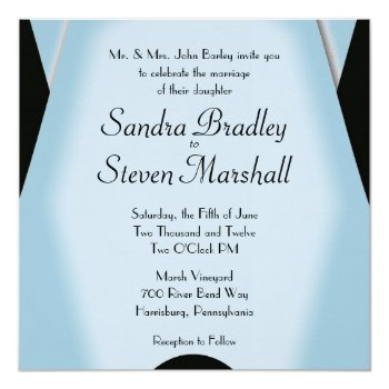 Modern Black and Blue Wedding 5.25