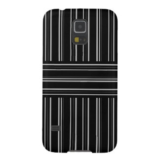 modern black and gray stripes pattern cases for galaxy s5