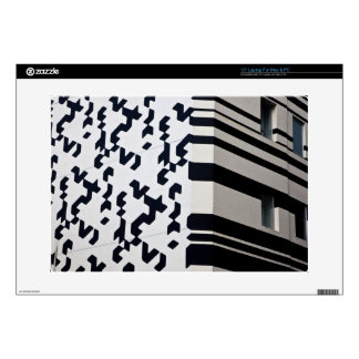 "Modern black and white building in Hong Kong Skin For 15"" Laptop"
