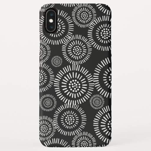 Modern Black and White iPhone XS Max Case