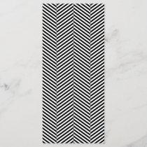 Modern Black And White Chevron Stripes Pattern