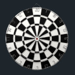 "Modern Black And White Dartboard<br><div class=""desc"">Modern Black And White Dart Board</div>"