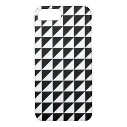 Modern Black and White Geometric iPhone 7 Case