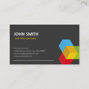3d business cards zazzle modern black and white with colorful 3d cube logo business card colourmoves