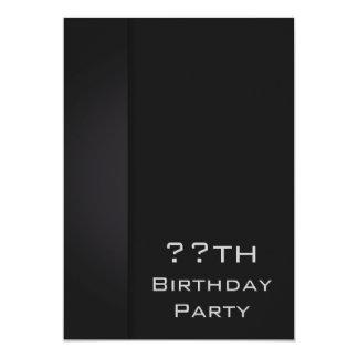 Modern Black Card