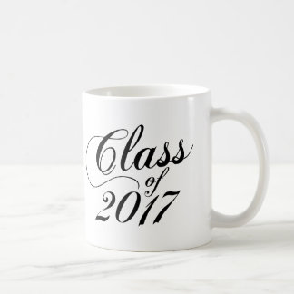 Modern Black | Graduation Coffee Mug