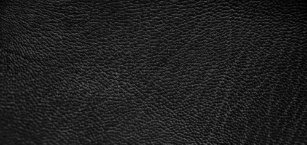 Modern Black Leather Look Shower Curtain