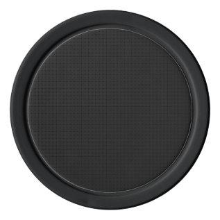 Modern Black Poker Chip Set at Zazzle
