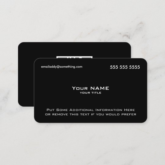 Modern black qr code business card zazzle modern black qr code business card colourmoves