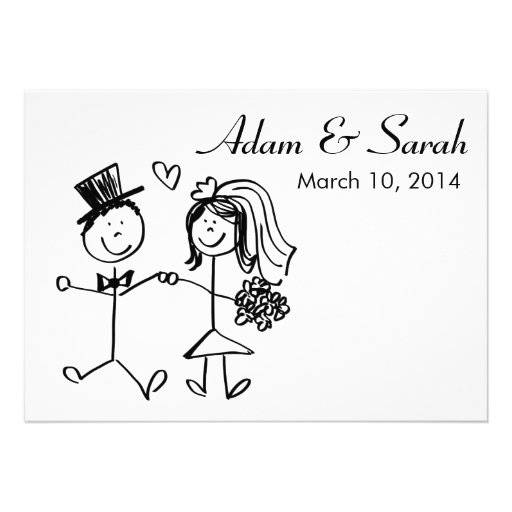 Standard Wedding Invite Size with good invitations example