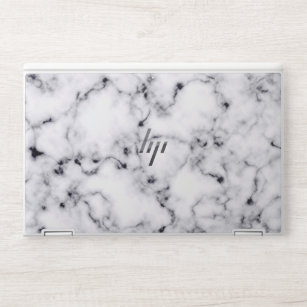 Black And White Marble Laptop Stickers Skins Zazzle