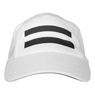 Modern Black White Stripes Pattern Headsweats Hat