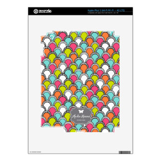 Modern Bliss scales iPad skin