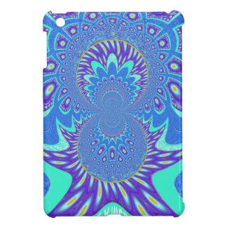Modern Blue art Case For The iPad Mini