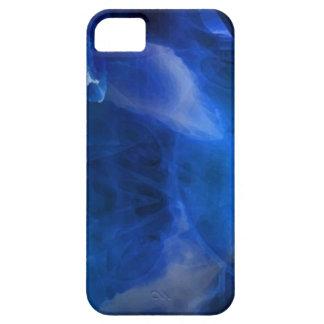 Modern blue_bub oils marble pattern-iphone5 iPhone SE/5/5s case