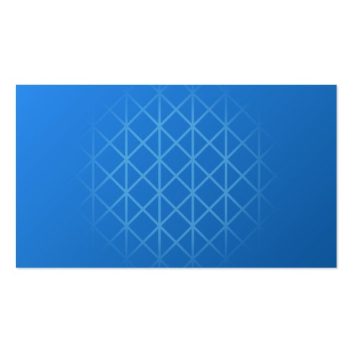 Modern Blue Design with part grid pattern. Double-Sided Standard Business Cards (Pack Of 100)