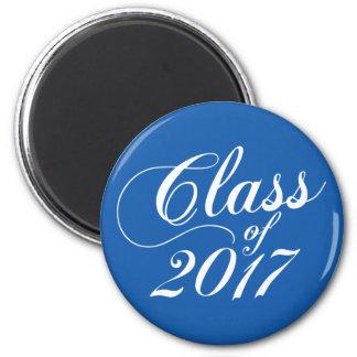 Modern Blue | Graduation Magnet