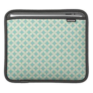 Modern Blue iPad Sleeve rickshaw_sleeve