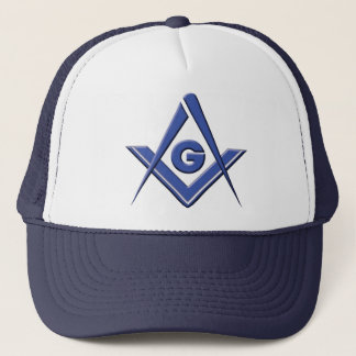 Modern Blue Lodge Trucker Hat